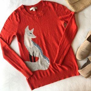 LOFT | Orange sweater size XS